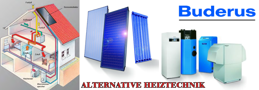 Banner alternative Heiztechnik